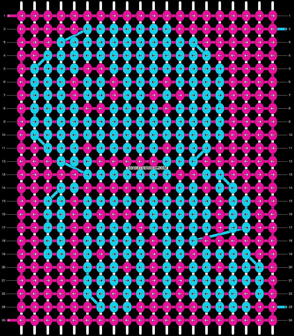 Alpha pattern #1687 pattern