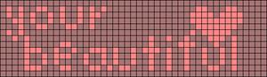 Alpha pattern #1694