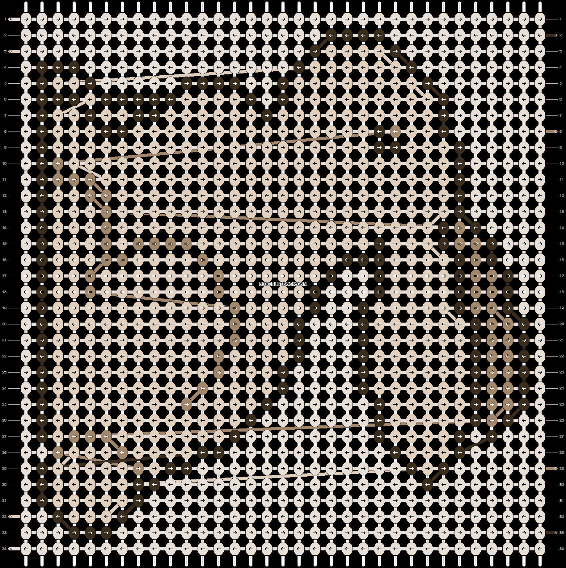 Alpha pattern #1697 pattern