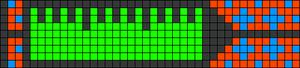 Alpha pattern #1698