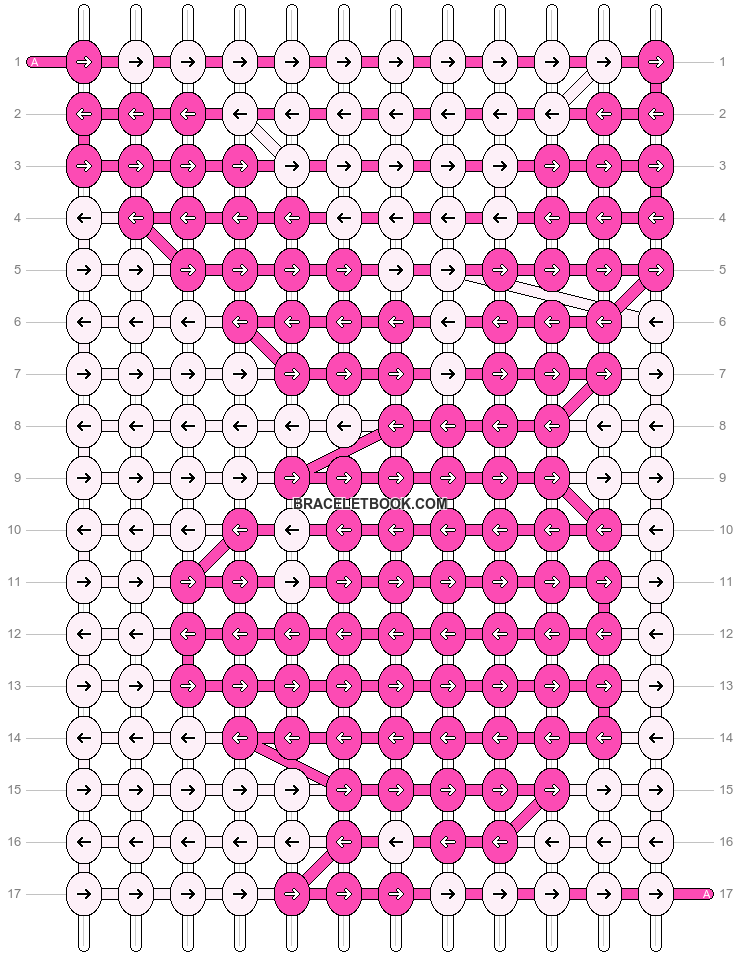 Alpha pattern #1712 pattern