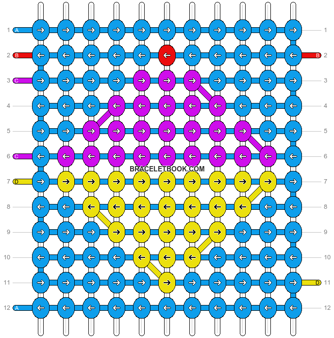 Alpha pattern #1713 pattern
