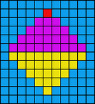 Alpha pattern #1713
