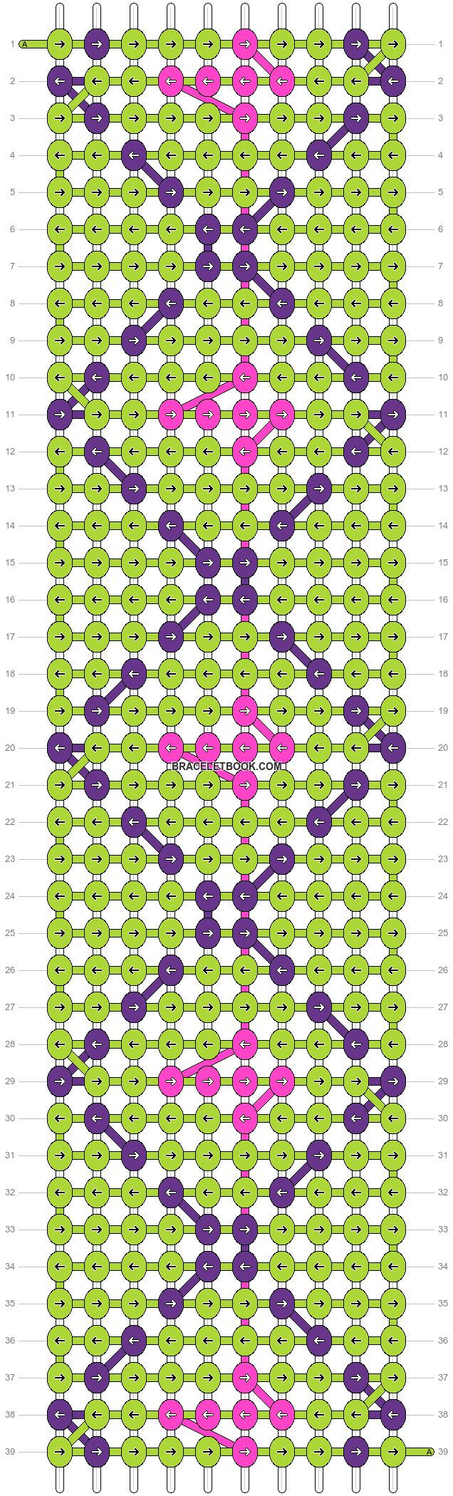 Alpha pattern #1721 pattern