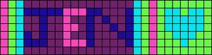 Alpha pattern #1736