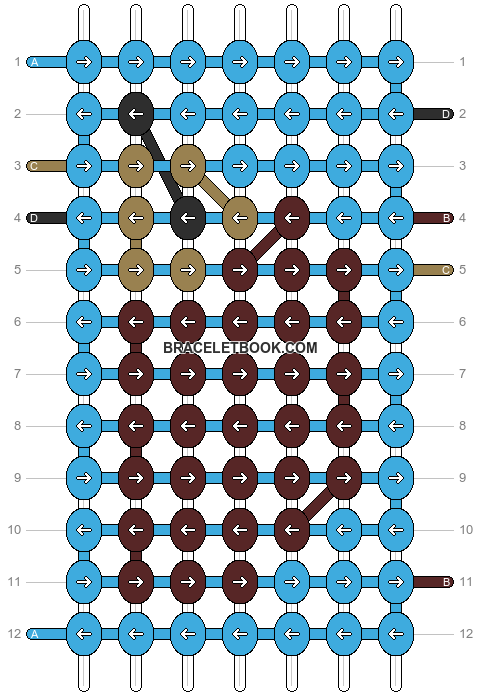Alpha pattern #1737 pattern