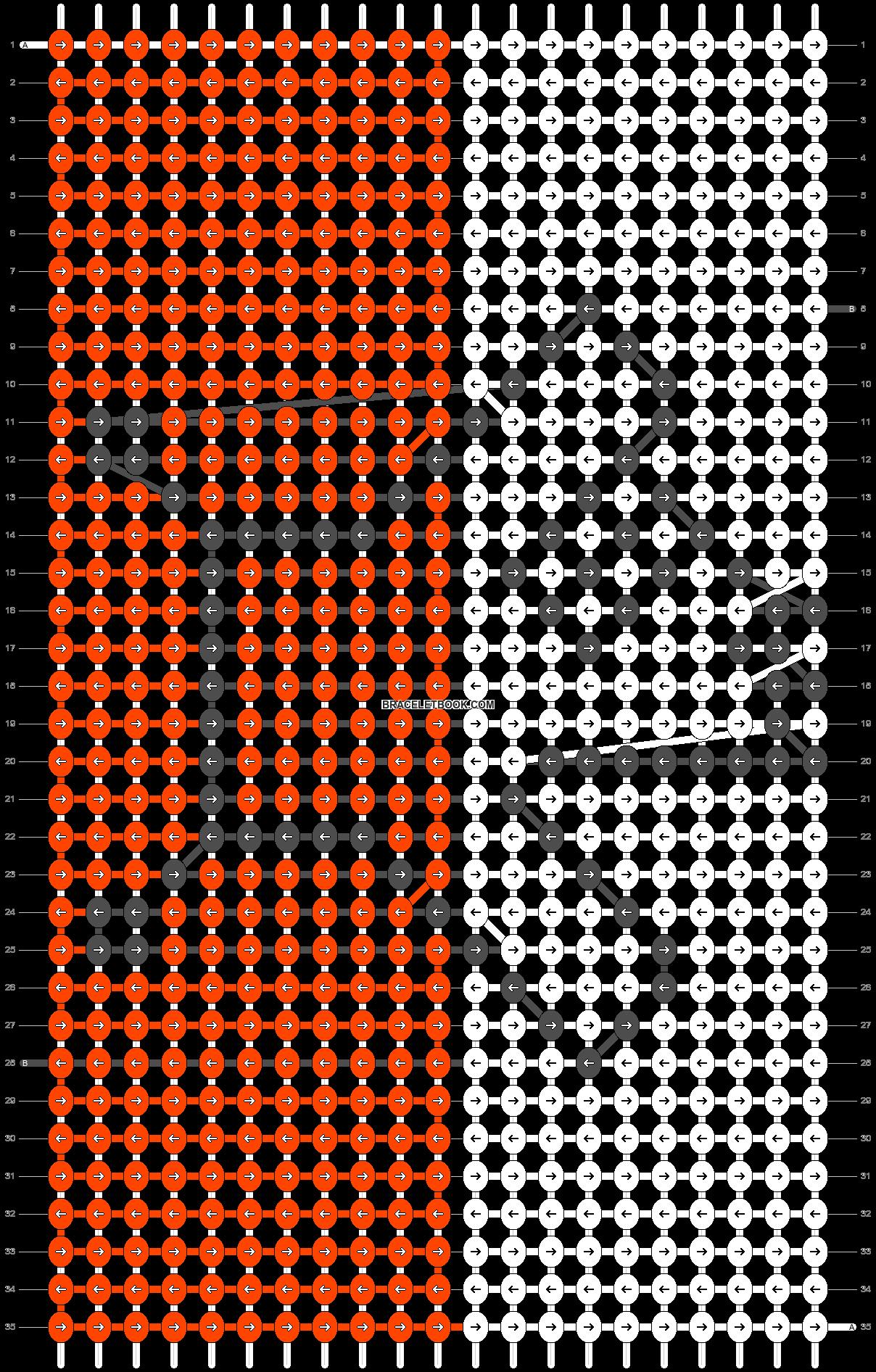Alpha pattern #1739 pattern