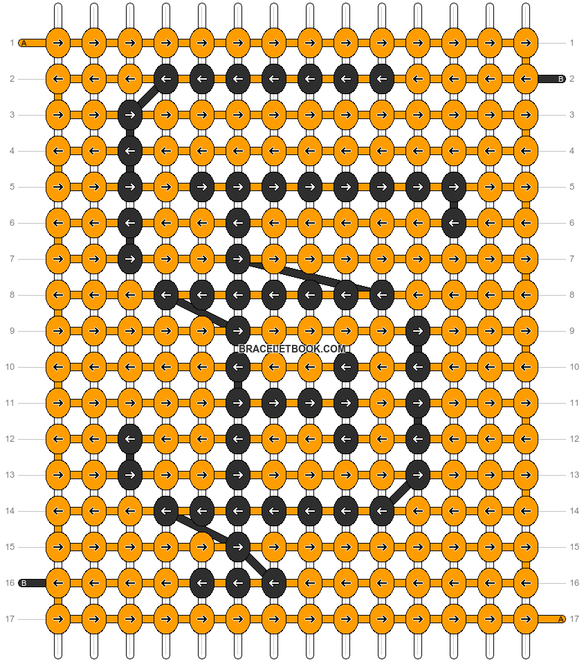 Alpha pattern #1749 pattern