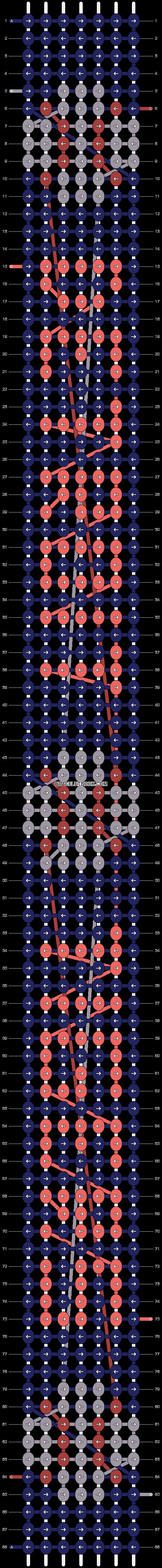 Alpha pattern #1752 pattern
