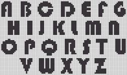 Alpha pattern #1760