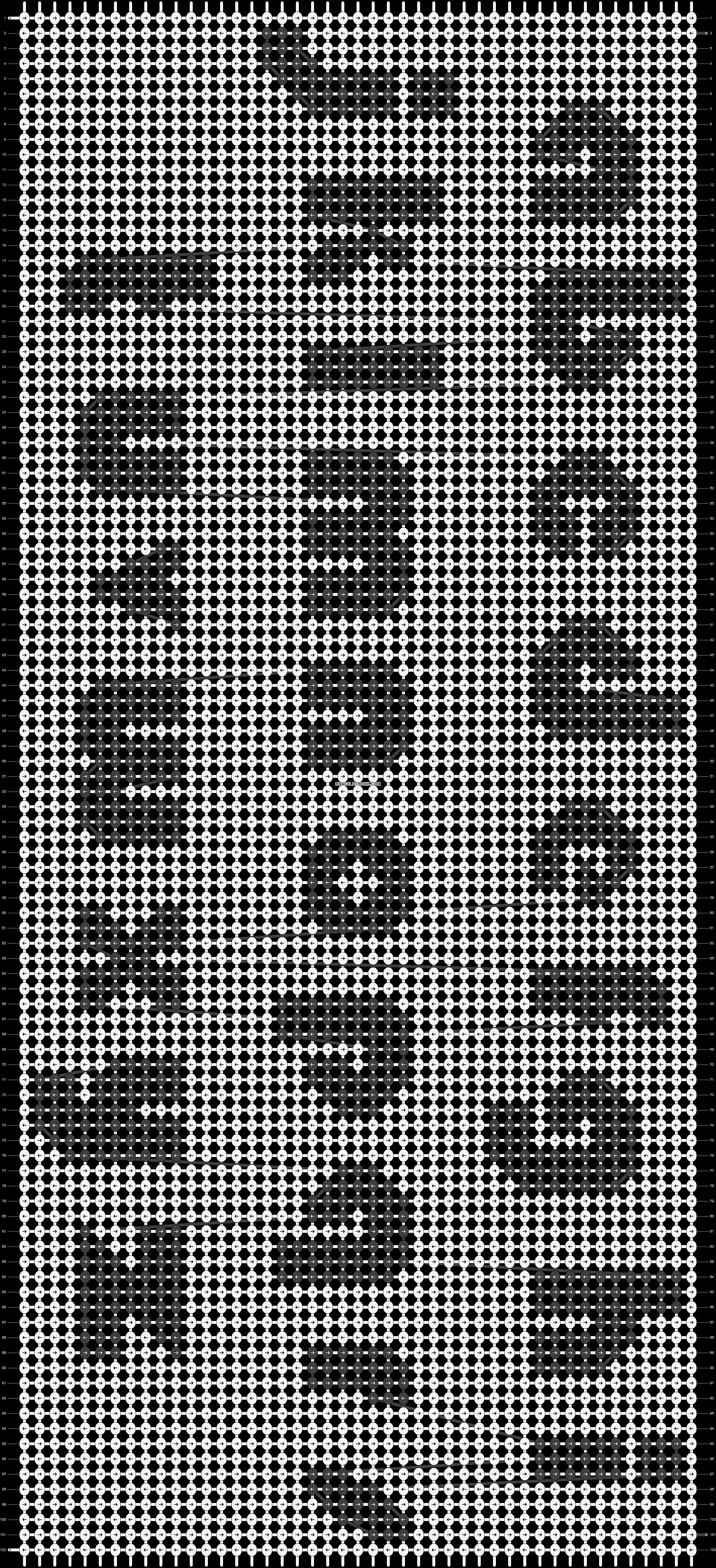 Alpha pattern #1764 pattern