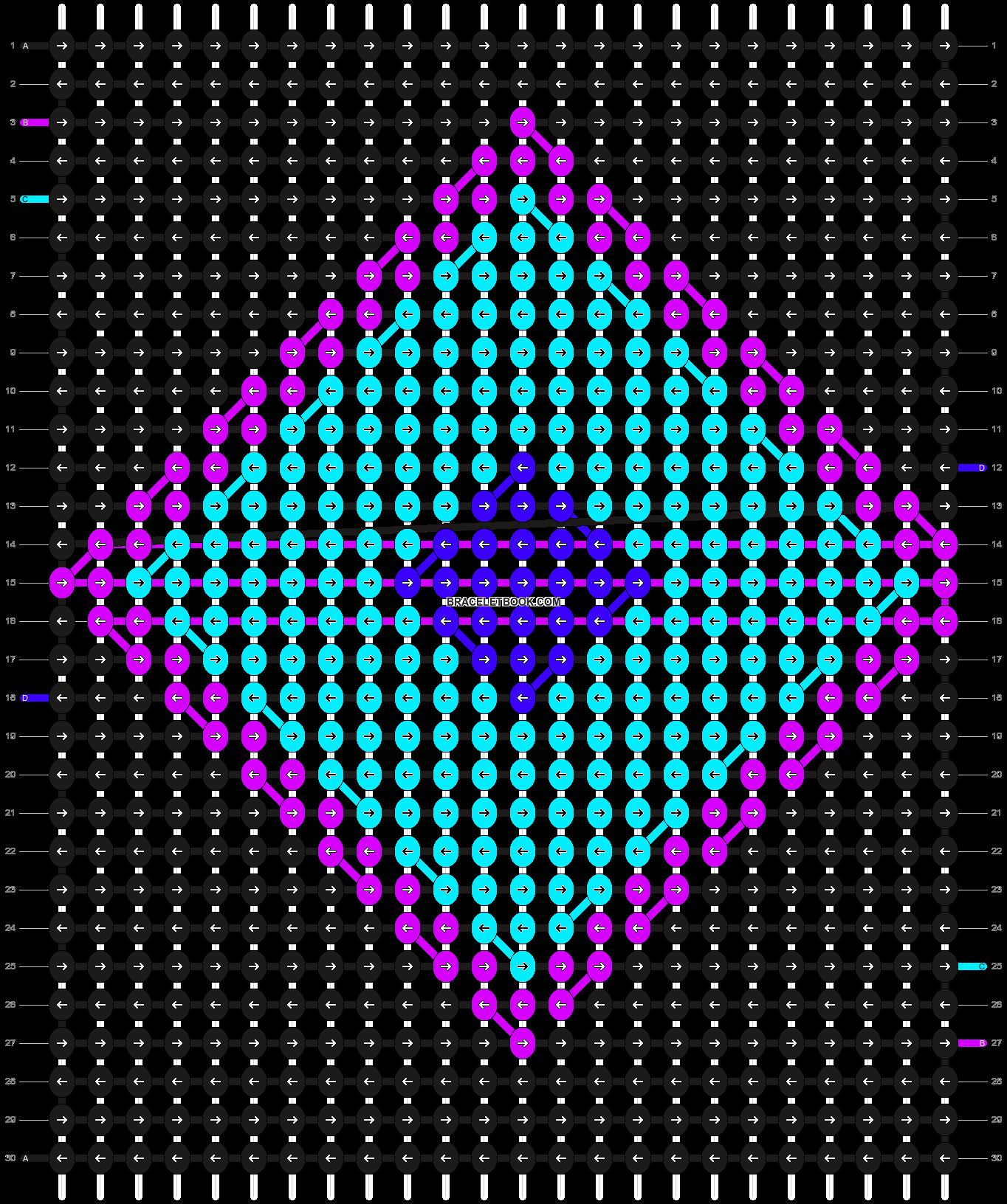 Alpha pattern #1771 pattern