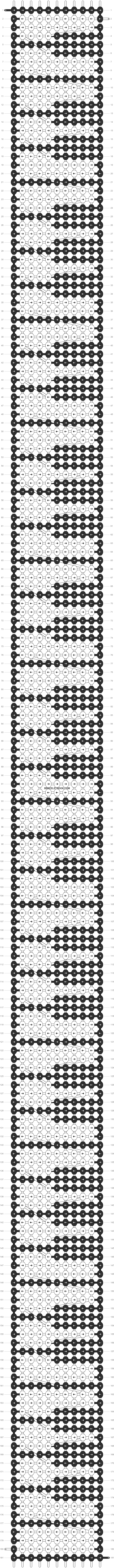 Alpha pattern #1780 pattern
