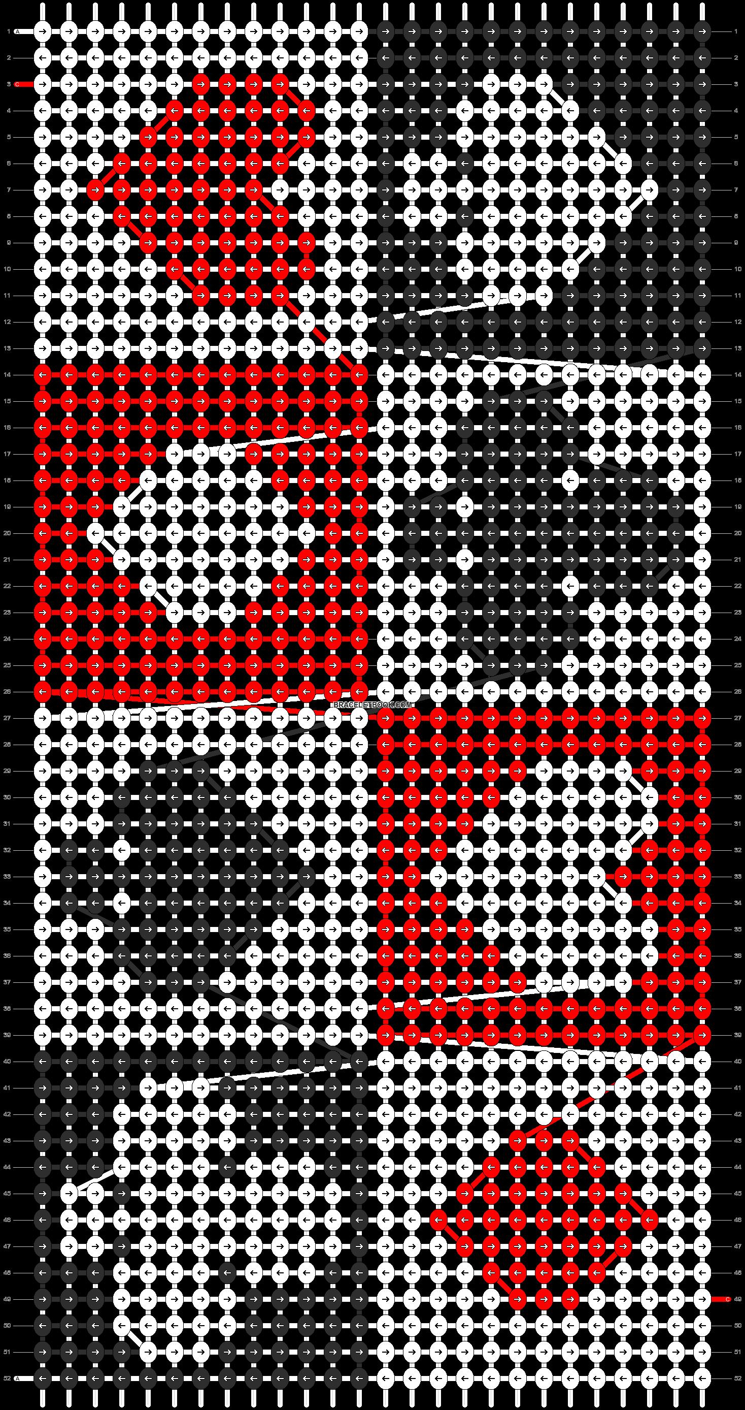 Alpha pattern #1783 pattern