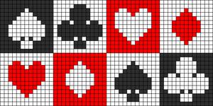 Alpha Friendship Bracelet Pattern #1783