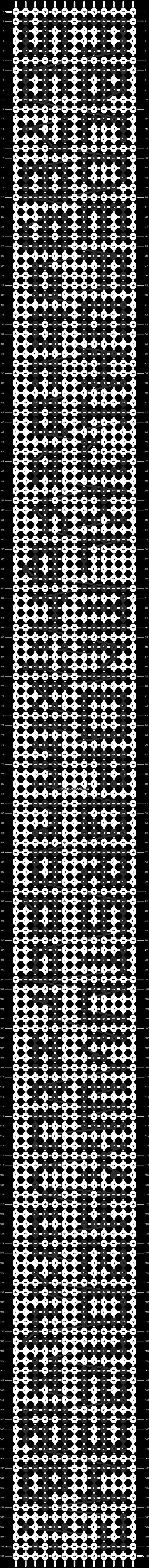 Alpha pattern #1784 pattern