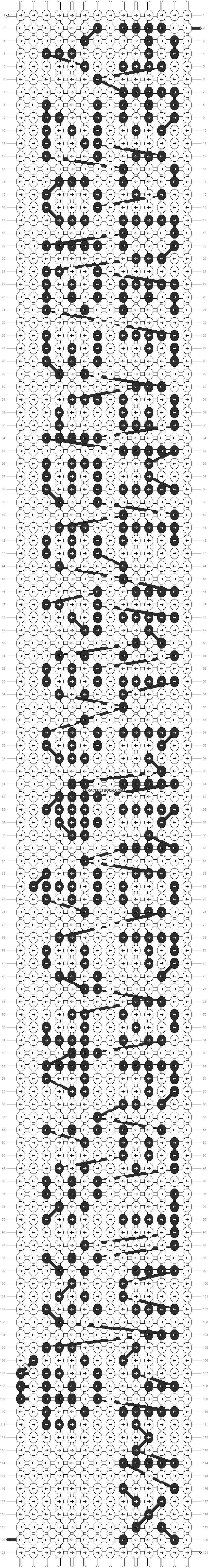 Alpha pattern #1785 pattern