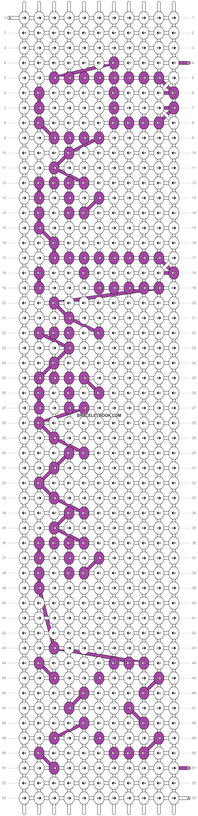 Alpha pattern #1798 pattern