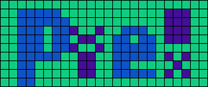Alpha pattern #1801