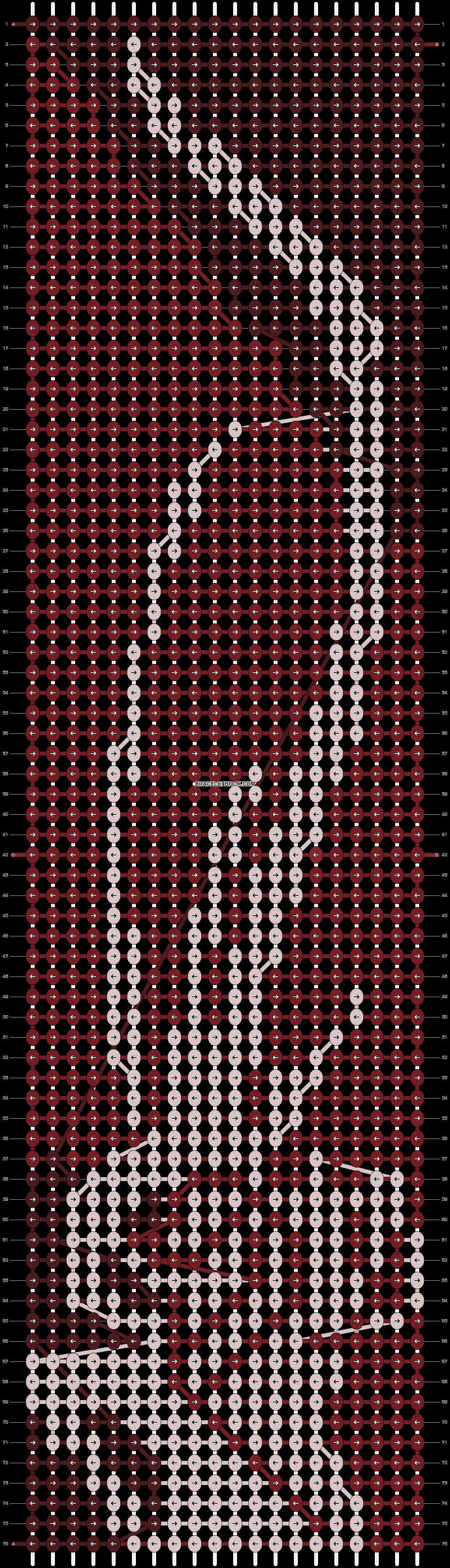 Alpha pattern #1803 pattern