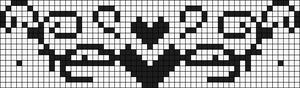 Alpha Friendship Bracelet Pattern #1818