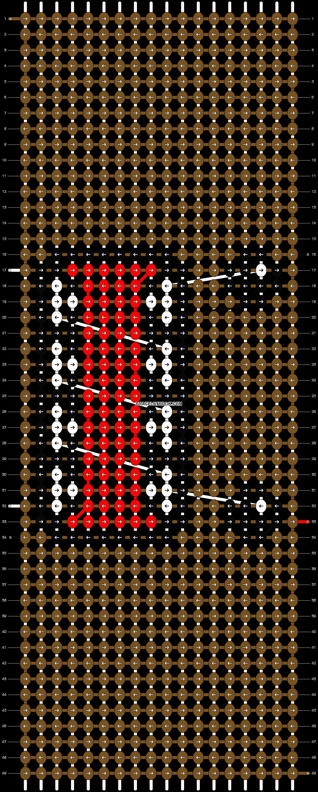 Alpha pattern #1819 pattern