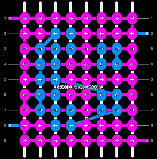 Alpha pattern #1825 pattern