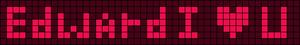 Alpha pattern #1833