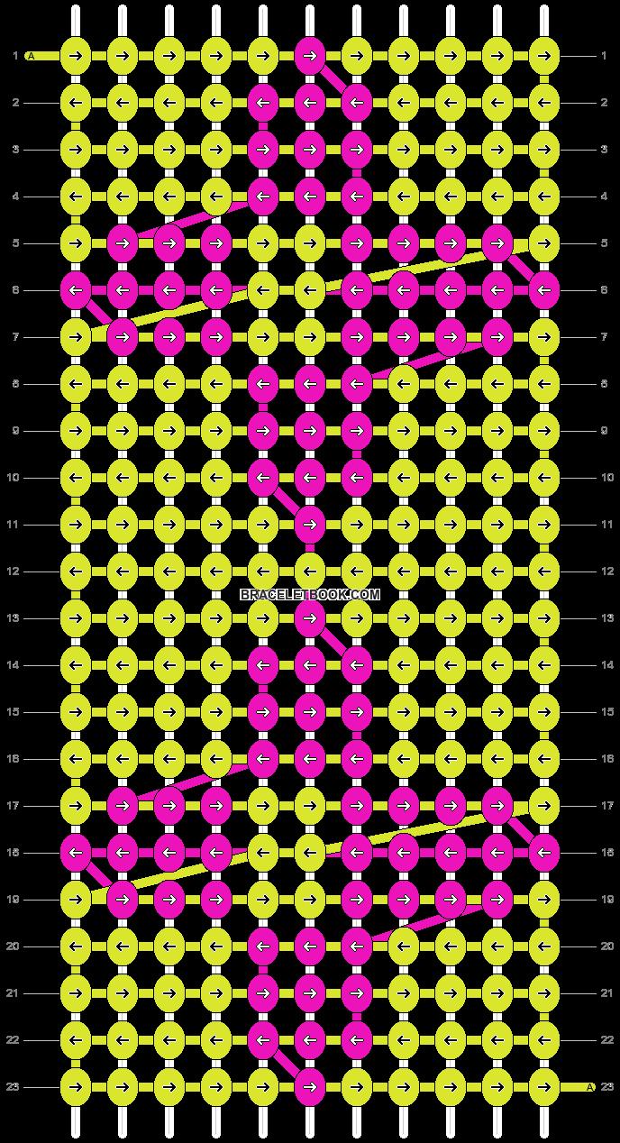 Alpha pattern #1850 pattern