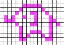 Alpha pattern #1863