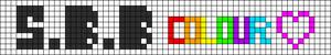 Alpha pattern #1865