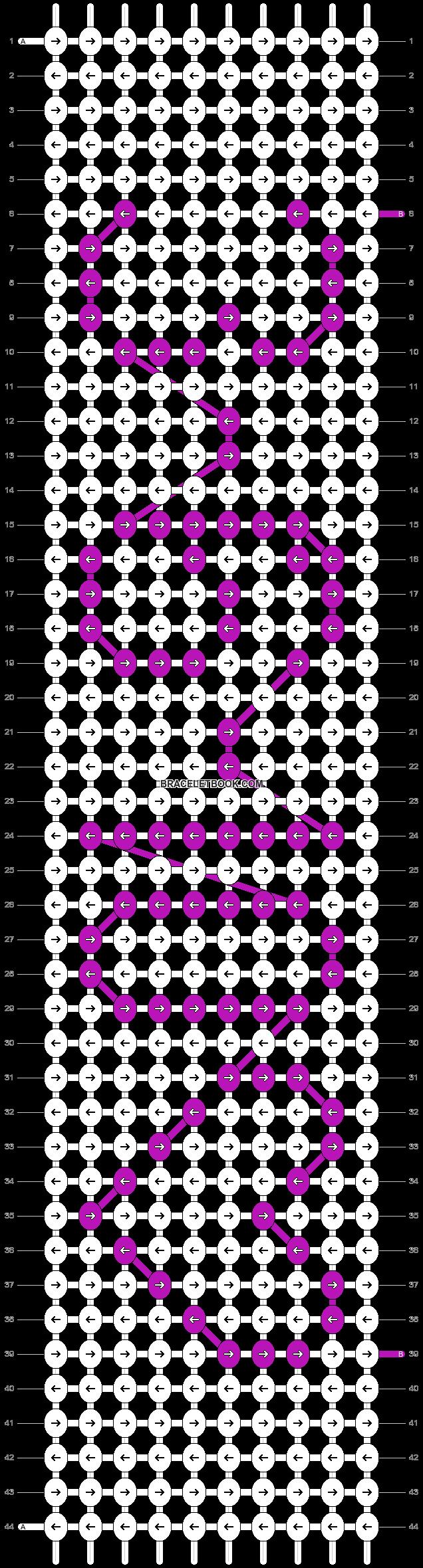 Alpha pattern #1867 pattern