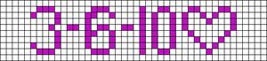 Alpha pattern #1867