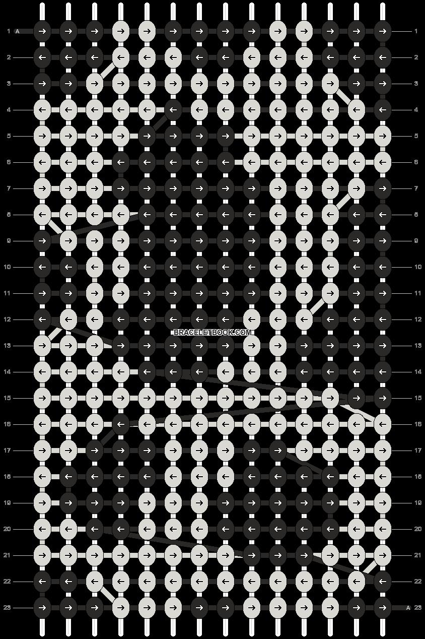 Alpha pattern #1877 pattern