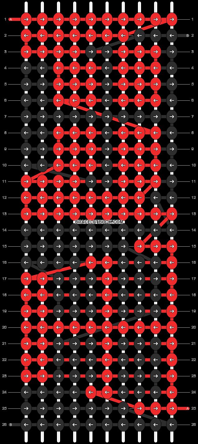 Alpha pattern #1882 pattern
