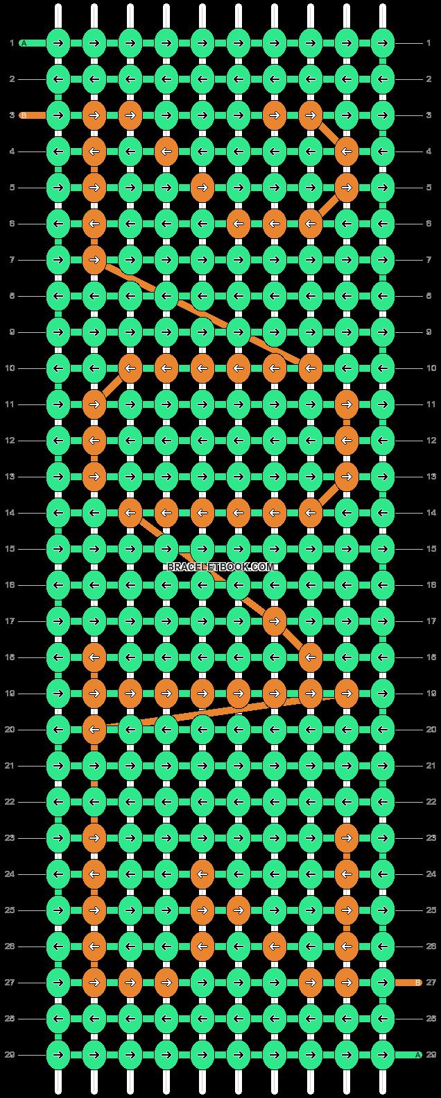 Alpha pattern #1895 pattern