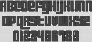 Alpha pattern #1910
