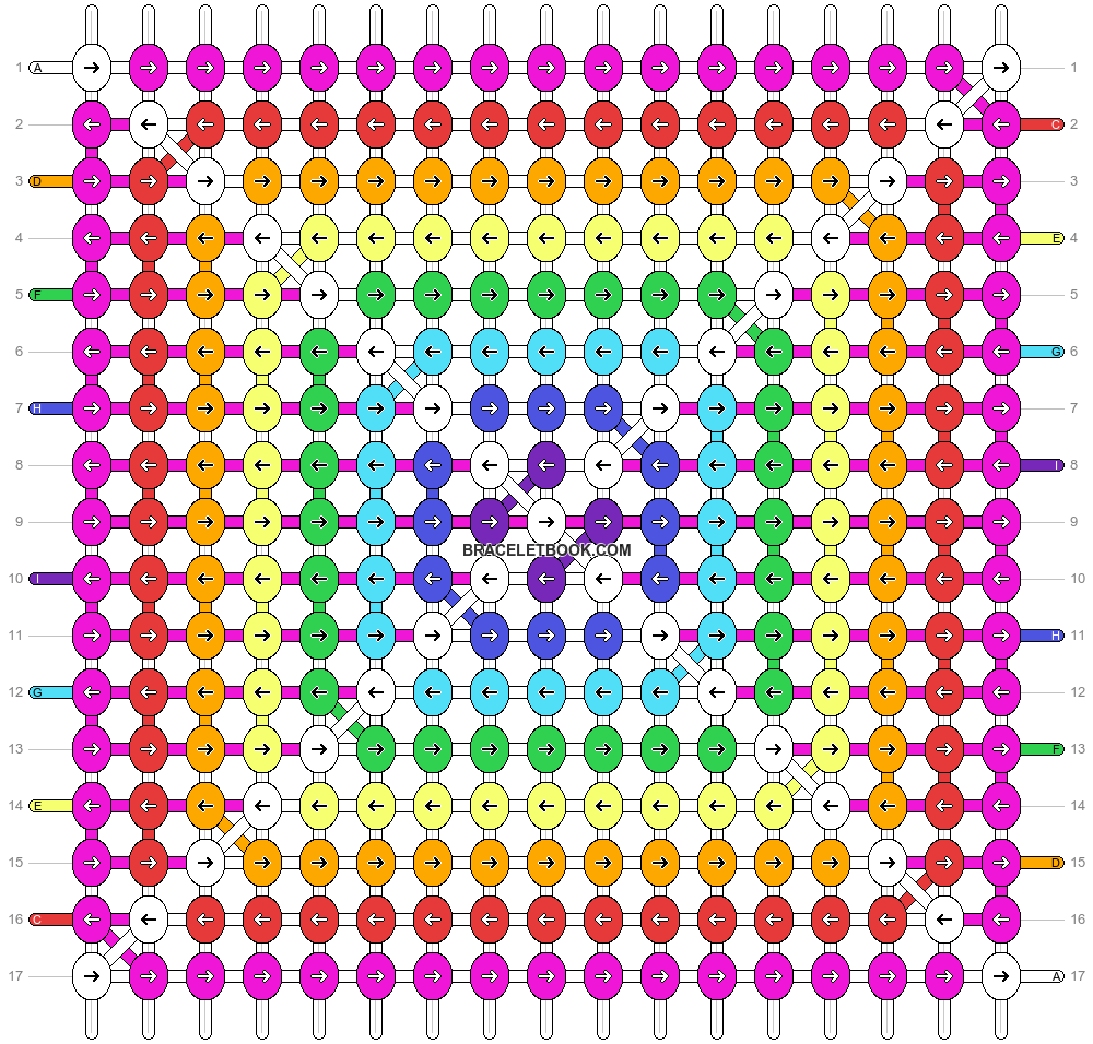 Alpha pattern #1928 pattern