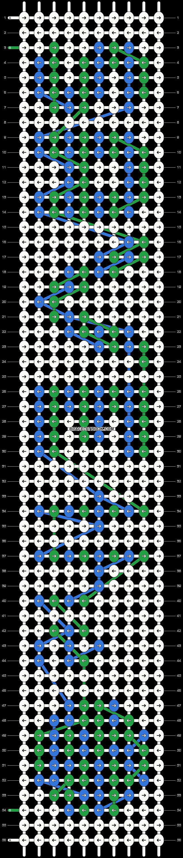 Alpha pattern #1930 pattern
