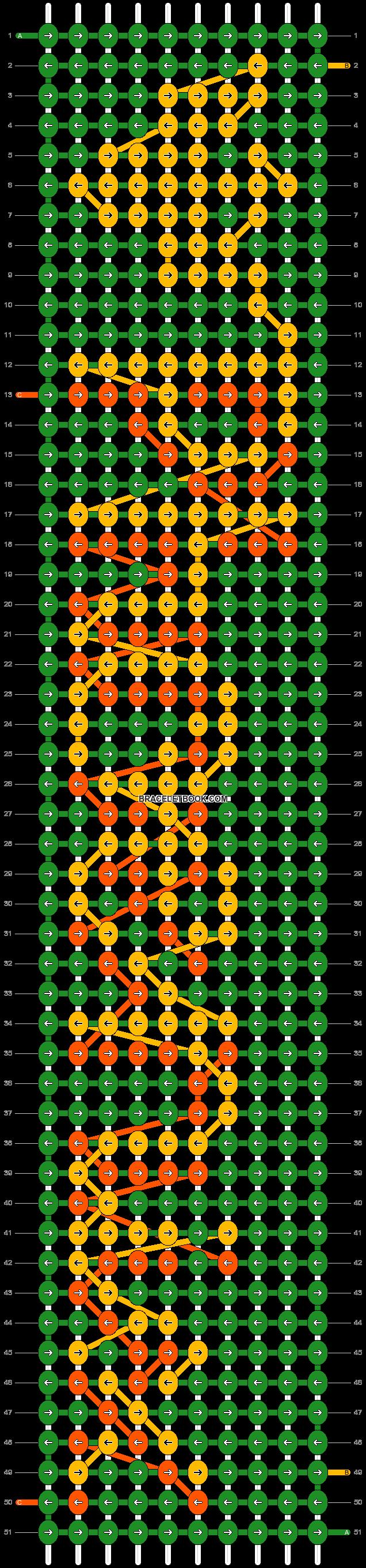 Alpha pattern #1961 pattern