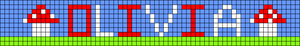 Alpha pattern #1968