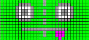 Alpha pattern #1969