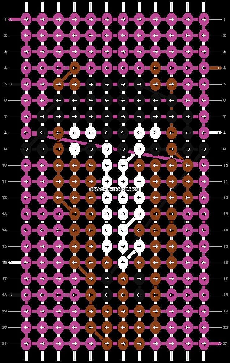 Alpha pattern #1971 pattern