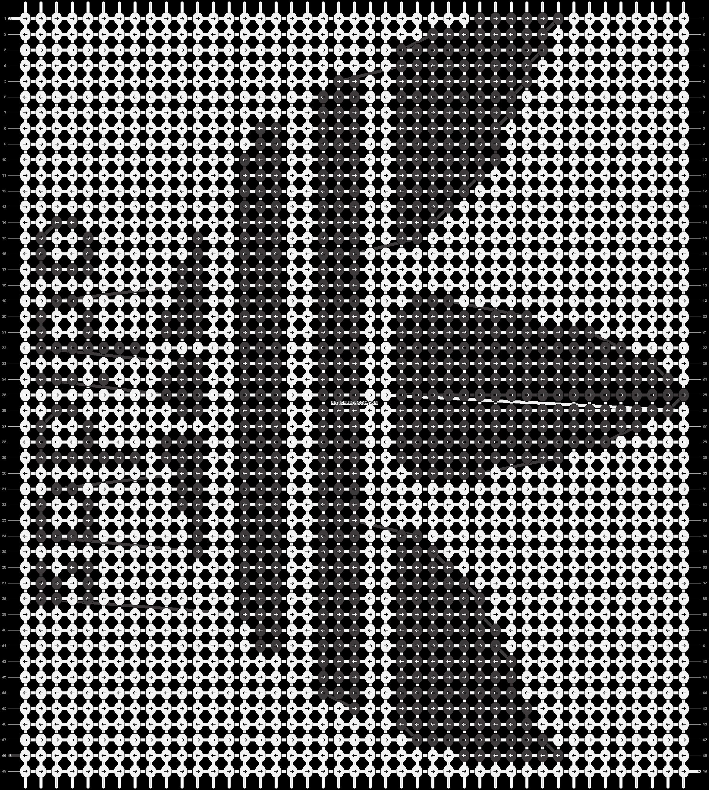 Alpha pattern #1984 pattern