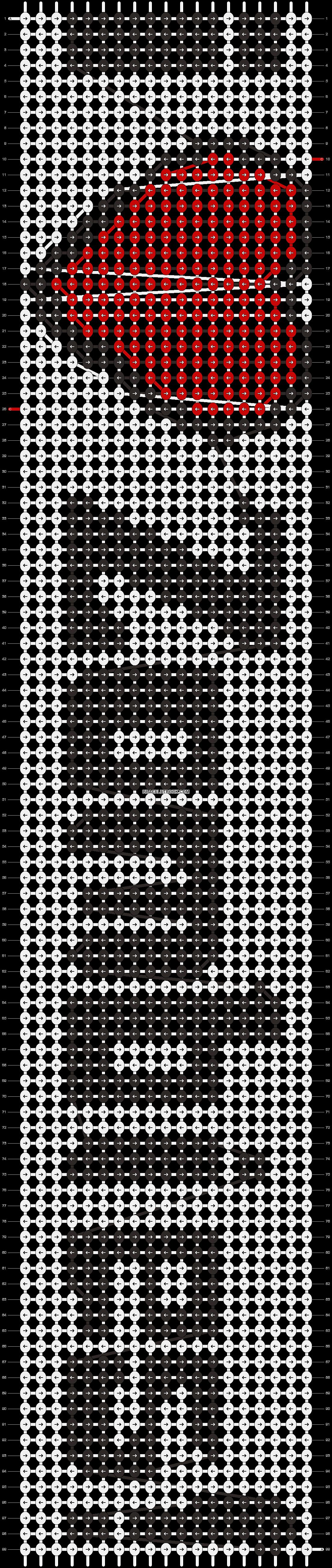 Alpha pattern #1985 pattern