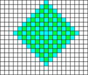 Alpha pattern #1999