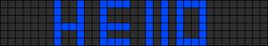 Alpha pattern #2001