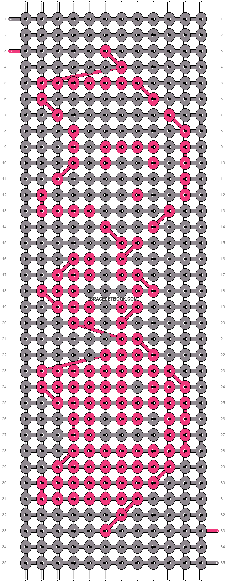 Alpha pattern #2032 pattern