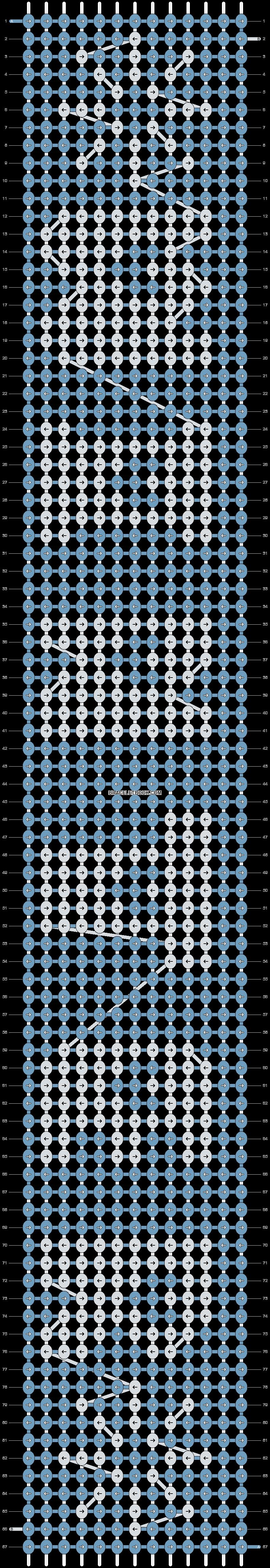 Alpha pattern #2052 pattern