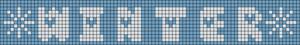 Alpha Friendship Bracelet Pattern #2052
